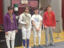 Essex Open 2014 Intermediate: Michael Lown with Gold