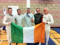 Vets 4 Nations Ireland Team