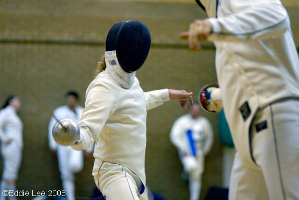 Épée with Gordon.