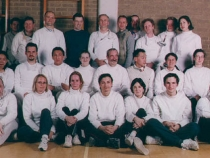 The Saxon FC: the year 2000 photo.