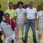 Saxon members taking part in the White Horse Trophy – 26th June