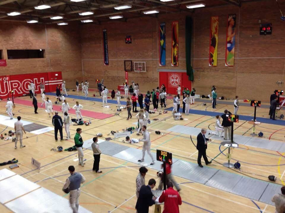 5 Nations underway, Scottish Fencing 2013