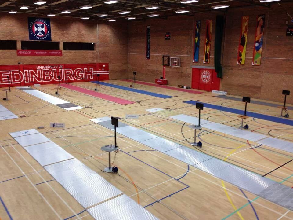 5 Nations Fencing Hall, Scottish Fencing 2013