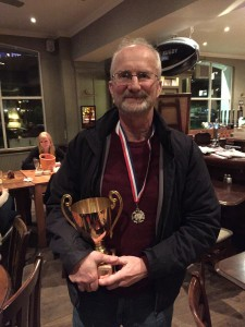 Paul with his 2013 trophy